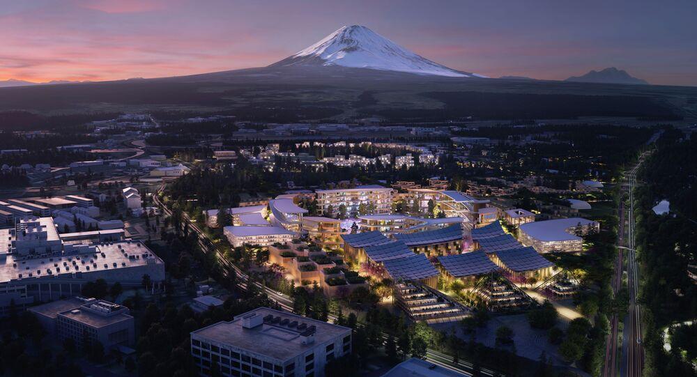 مدينة المستقبل ووفن من إنشاء شركة تويوتا في اليابان