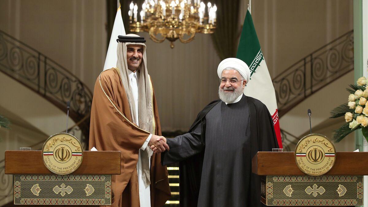 العلاقات بين قطر وإيران شهدت تحسنا كبيرا في الفترة الماضية