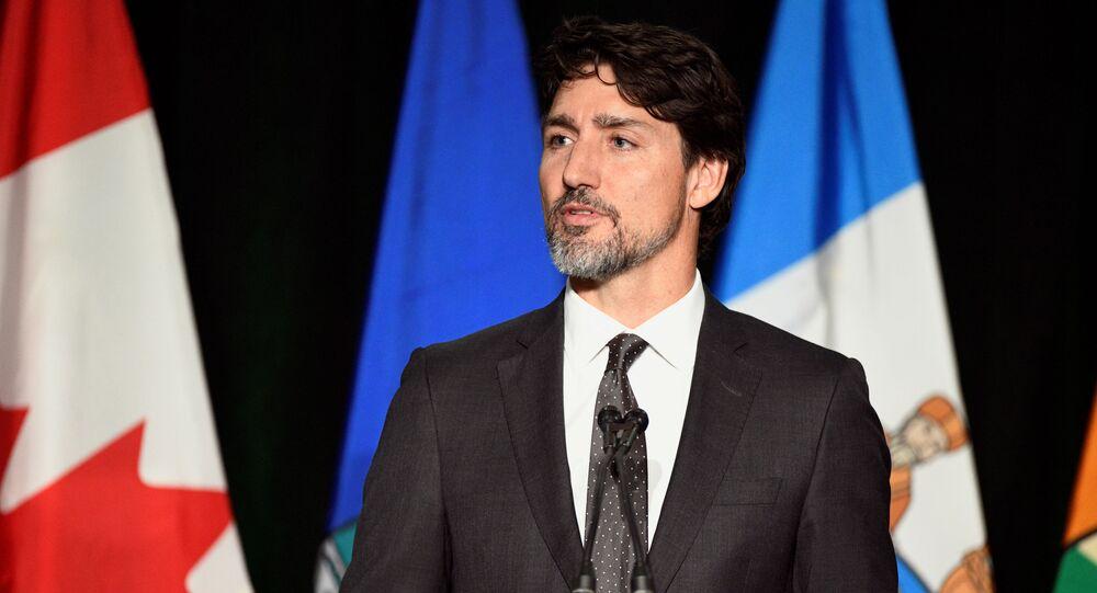 رغم شفاء زوجته رئيس وزراء كندا سيظل معزولا في المنزل Sputnik Arabic