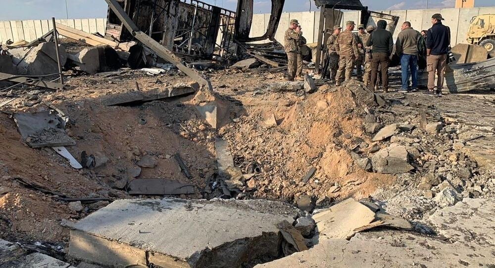 تداعيات قصف القاعدة العسكرية الأمريكية عين الأسد في العراق، 13 يناير 2019