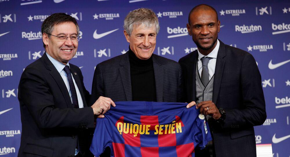 برشلونة يقدم لوسائل الإعلام مدربه الجديد... ماذا تعرف عن كيكي ...