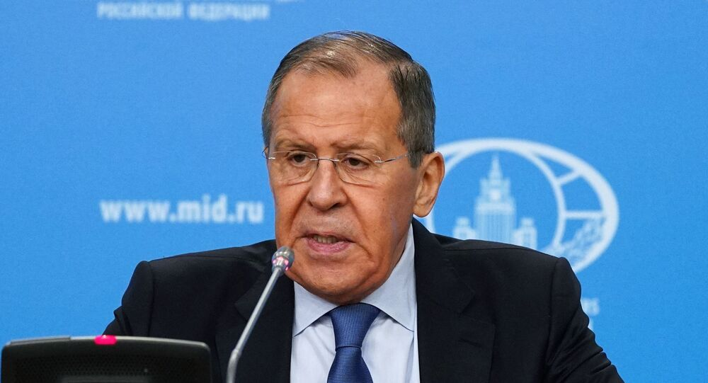 مؤتمر صحفي لوزير الخارجية الروسي سيرغي لافروف حول إنجازات الدبلوماسية والسياسة الخارجية الروسية لعام 2019