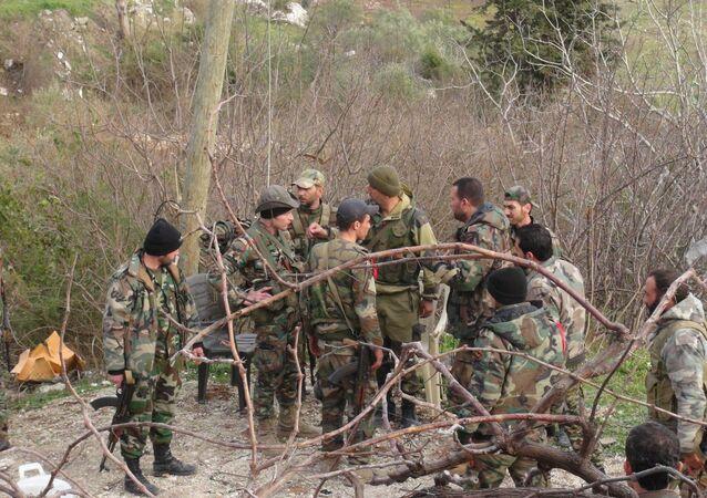 جندو الجيش السوري في ريف اللاذقية