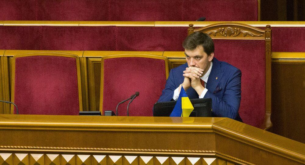أليكسي غونتشاروك، رئيس وزراء أوكرانيا