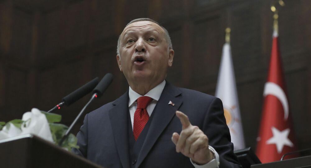 الرئس التركي رجب طيب أردوغان
