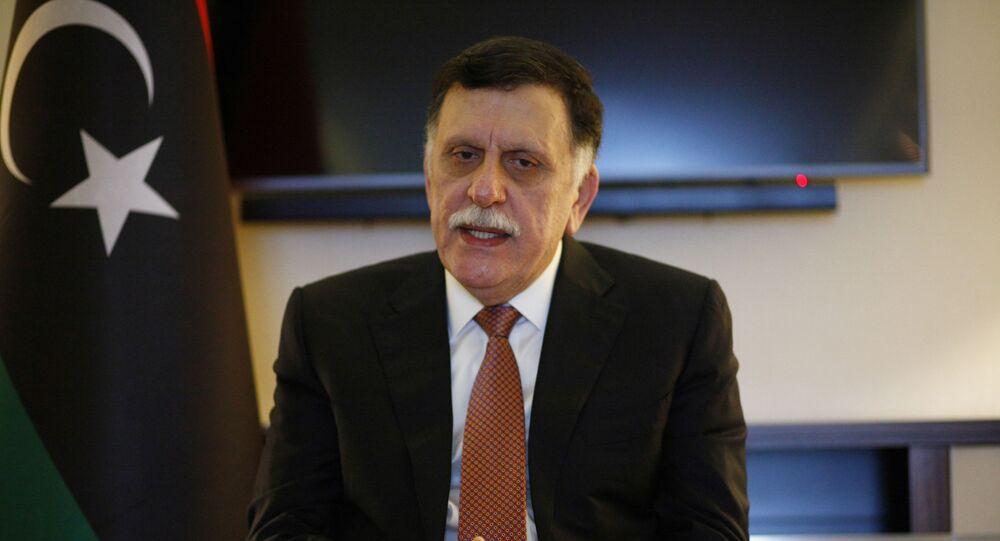 رئيس حكومة الوفاق الليبية فايز السراج