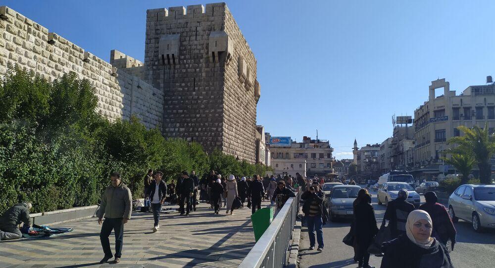 دمشق، سوريا 20 يناير 2020
