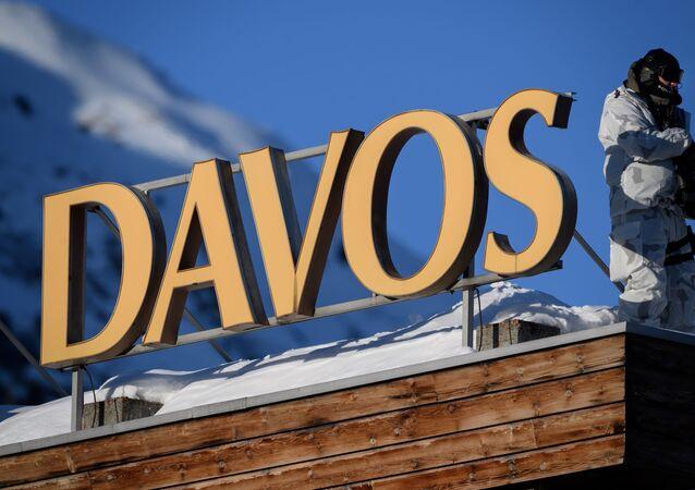 منتدى دافوس 2020 بسويسرا، 20 يناير/ كانون الثاني 2020