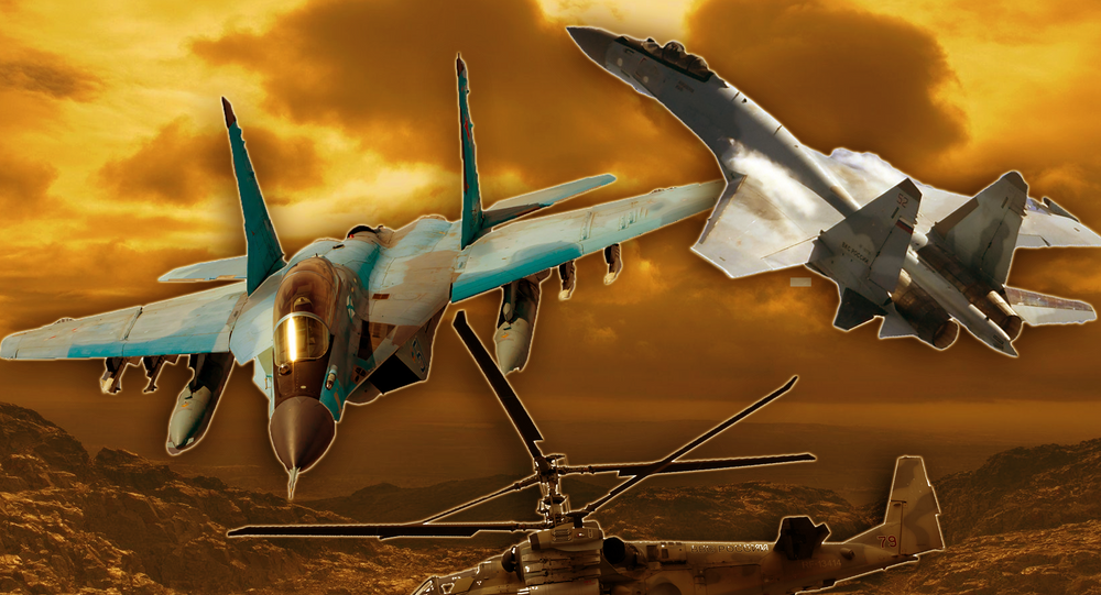مقاتلات روسية ومروحيات تستخدمها مصر