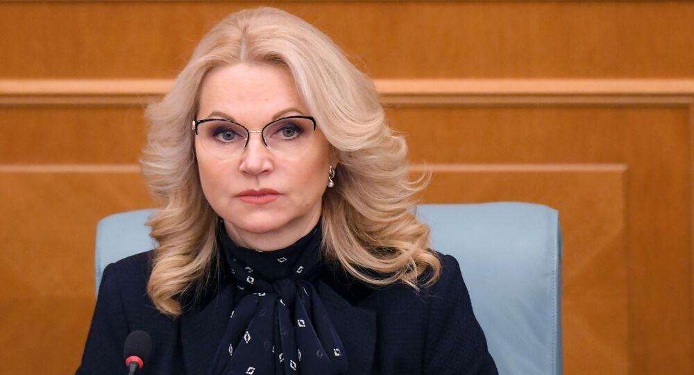 أعضاء الحكومة الروسية الجديدة - نائب رئيس الوزراء الروسية تاتيانا غوليكوفا