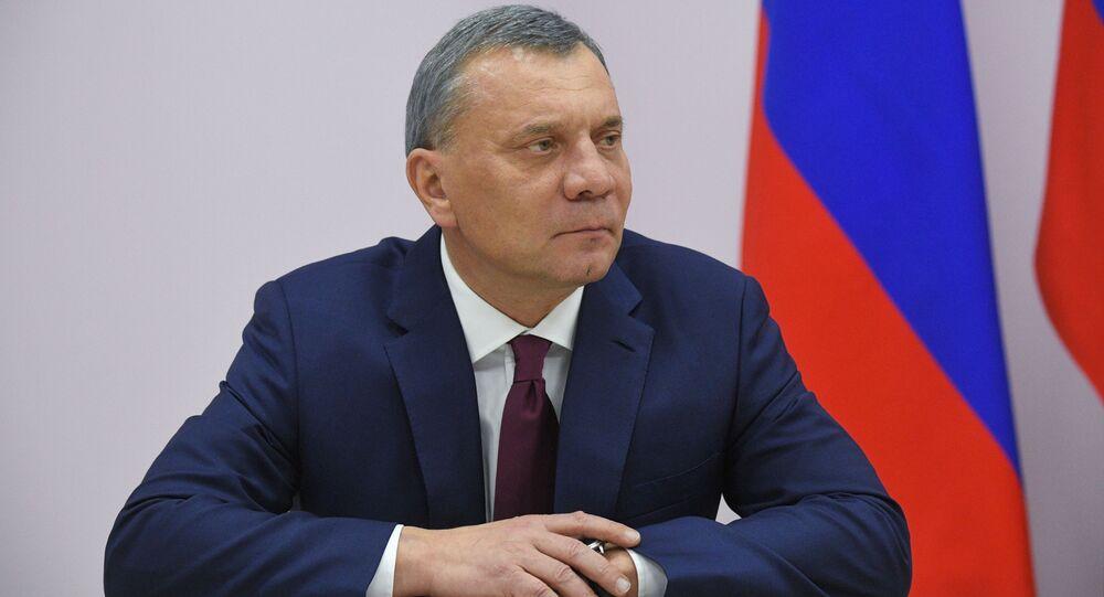 أعضاء الحكومة الروسية الجديدة - نائب رئيس الوزراء الروسي يوري بوريسوف
