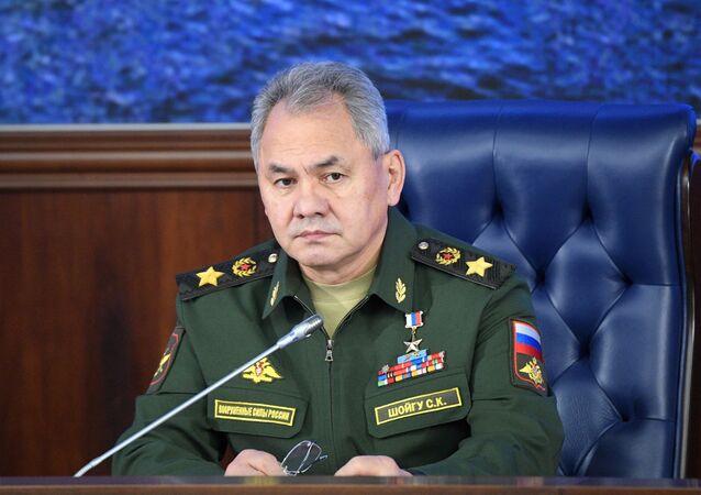 أعضاء الحكومة الروسية الجديدة - وزير الدفاع الروسي سيرغي شويغو