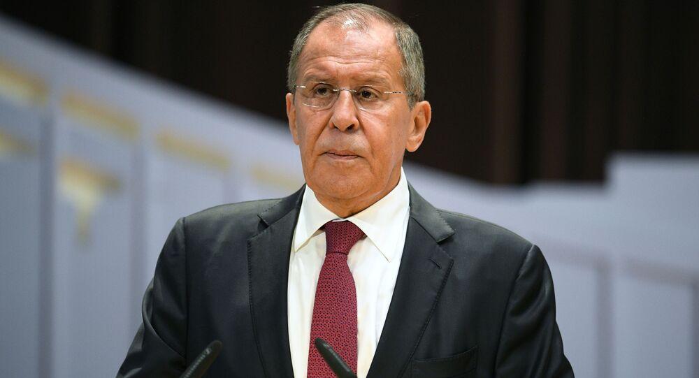 أعضاء الحكومة الروسية الجديدة - وزير الخارجية الروسي سيرغي لافروف