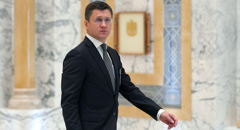 أعضاء الحكومة الروسية الجديدة - وزير الطاقة الروسي ألكسندر نوفاك