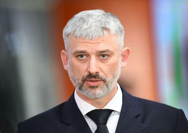 أعضاء الحكومة الروسية الجديدة - وزير النقل الروسي يفغيني ديتريخ