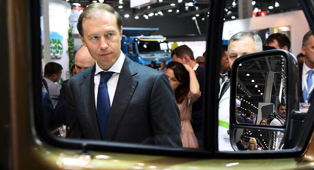 أعضاء الحكومة الروسية الجديدة - وزير الصناعة والتجارة الروسي دينيس مانتوروف