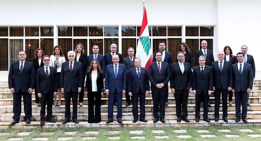 الصورة الرسمية لتشكيل الحكومة اللبنانية