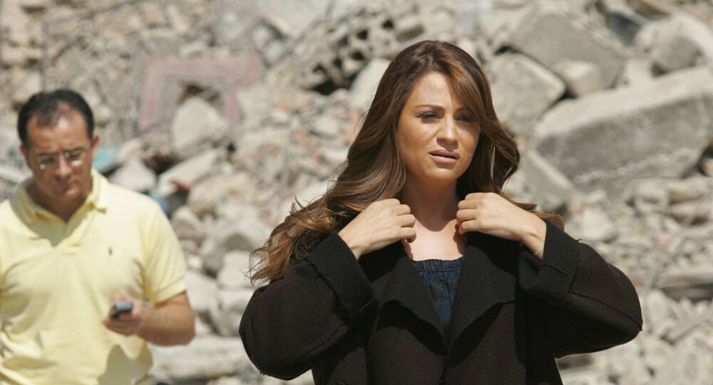 المطربة اللبنانية جوليا بطرس