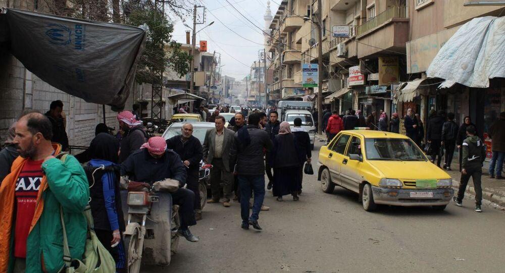 الحسكة، سوريا يناير 2020