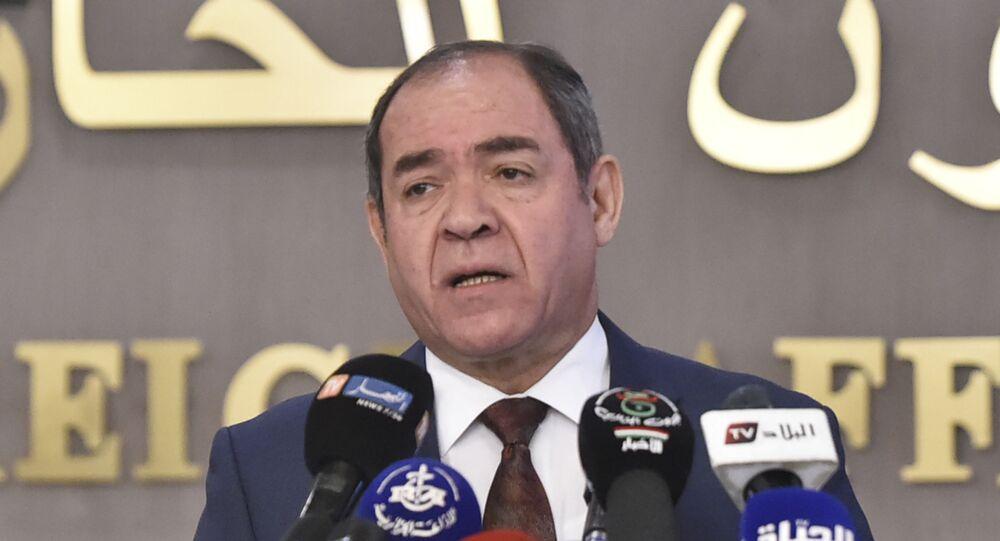 وزير الشؤون الخارجية الجزائرية، صبري بوقادوم