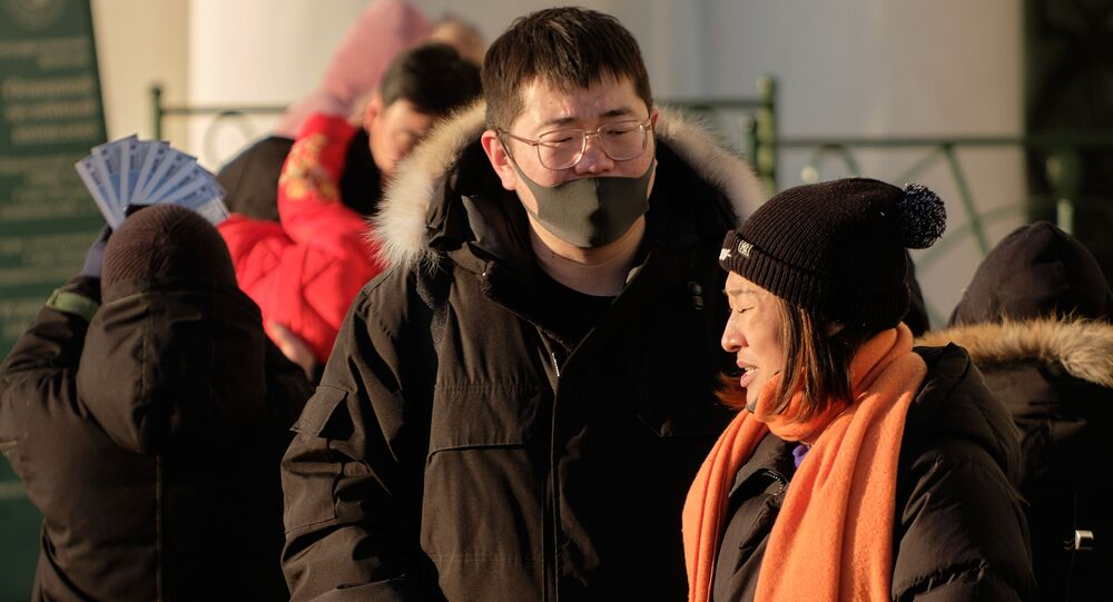 الصين، السياحة، السياح، سياح في سان بطرسبورغ - فيروس كورونا، 23 يناير 2020