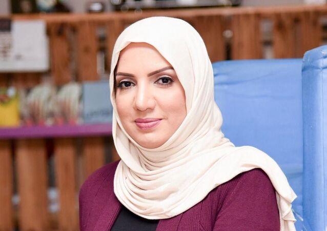 رئيسة مهرجان البحرين السينمائي منصورة الجمرى