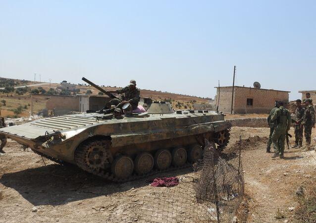 الجيش السوري في عملية تحرير معرشورين
