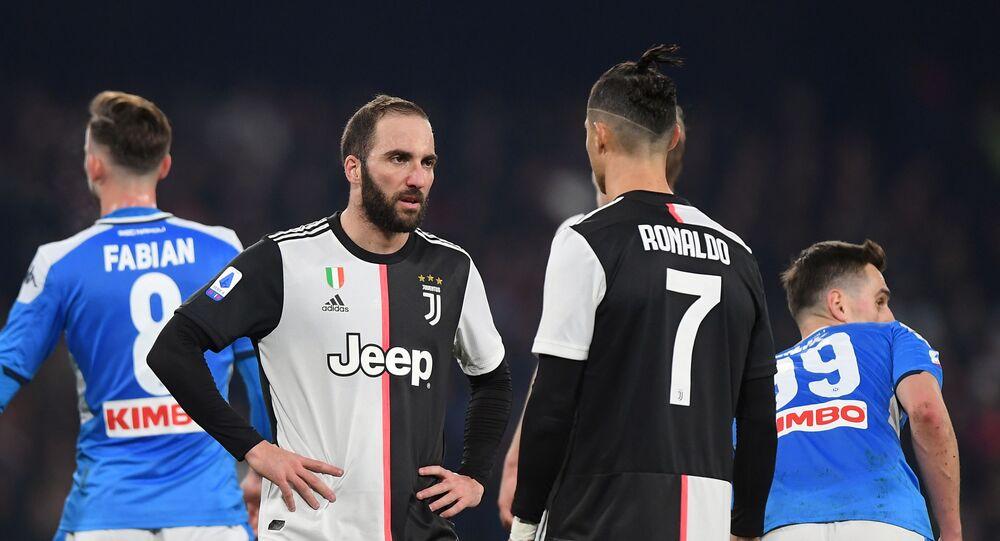 مباراة نابولي ويوفنتوس في الدوري الإيطالي