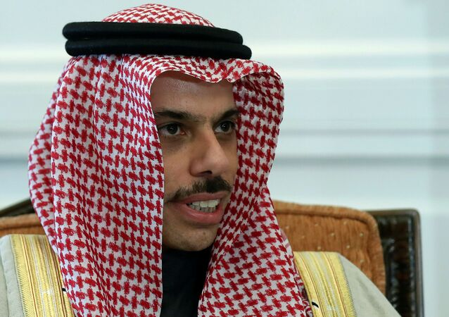 وزير الخارجية السعودي الأمير فيصل بن فرحان
