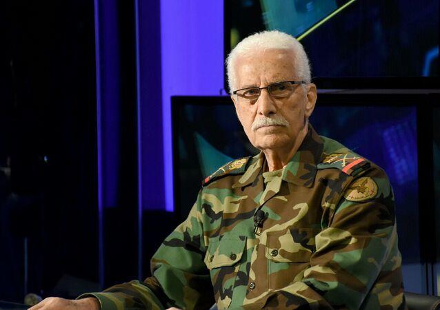 اللواء محمد طارق الخضراء القائد العام لجيش التحرير الفلسطيني