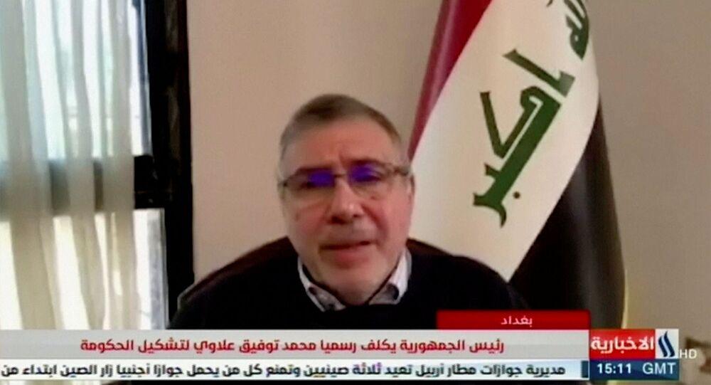 رئيس الوزراء العراقي محمد توفيق علاوي