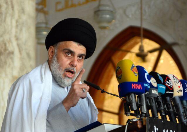 عيم التيار الصدري في العراق مقتدى الصدر