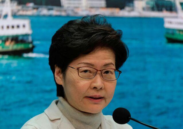 زعيمة هونغ كونغ كاري لام
