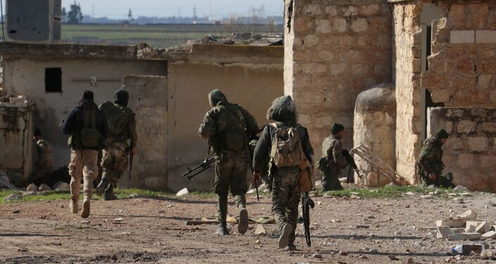 الجيش السوري في ريف حلب الجنوبي