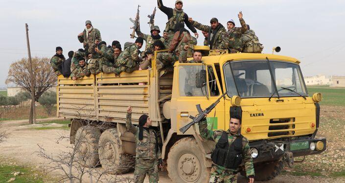 تقدم الجيش السوري نحو مدينة سراقب