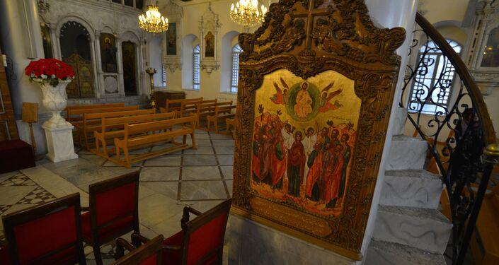 الكاتدرائية المريمية في مدينة دمشق القديمة