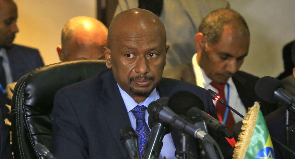 وزير المياه والطاقة والري الإثيوبي، سيليشي بيكيلي