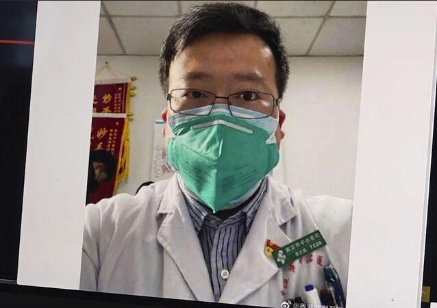 طبيب العيون الصيني لي وينليانغ