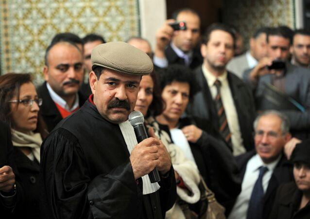 الزعيم اليساري التونسي البارز شكري بلعيد