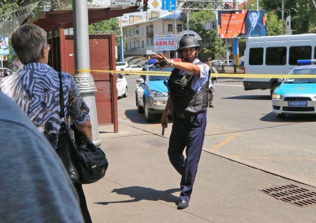 شرطة كازاخستان