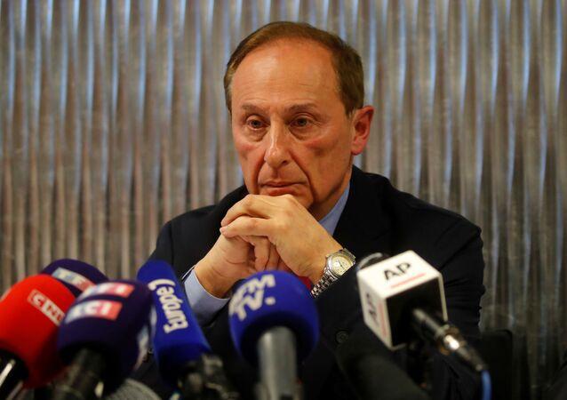 رئيس الاتحاد الفرنسي للرياضات الجليدية ديدييه غايوغيه