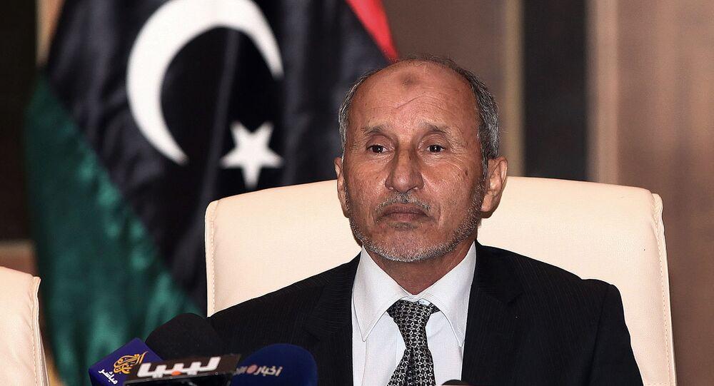 رئيس المجلس الانتقالي السابق في ليبيا، المستشار مصطفى عبدالجليل