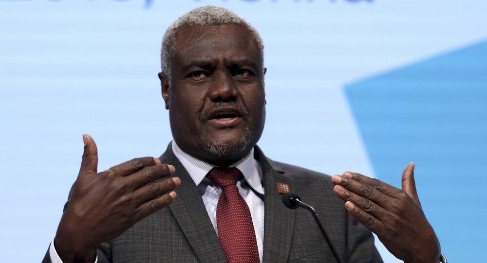 رئيس مفوضية الاتحاد الإفريقي، موسى فكي