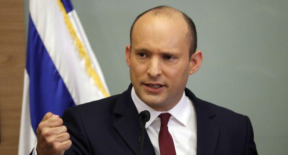 وزير الدفاع الإسرائيلي نفتالي بينيت