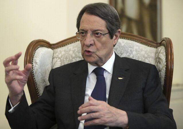 الرئيس القبرصي نيكوس أناستاسيادس