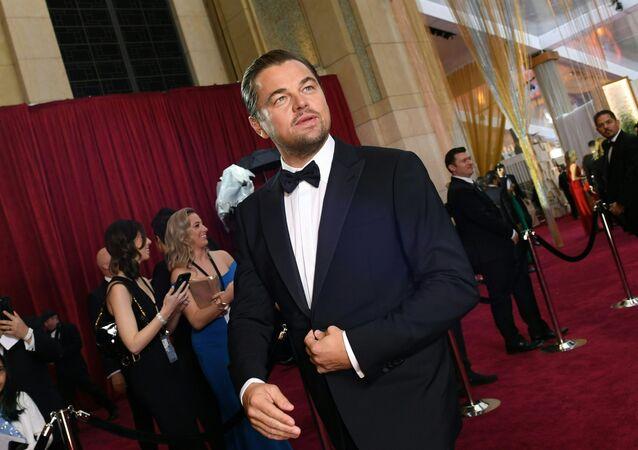 الممثل الأمريكي ليوناردو دي كابريو يصل لحضور حفل توزيع جوائز أوسكار في لوس أنجلوس، الولايات المتحدة 9 فبراير 2020