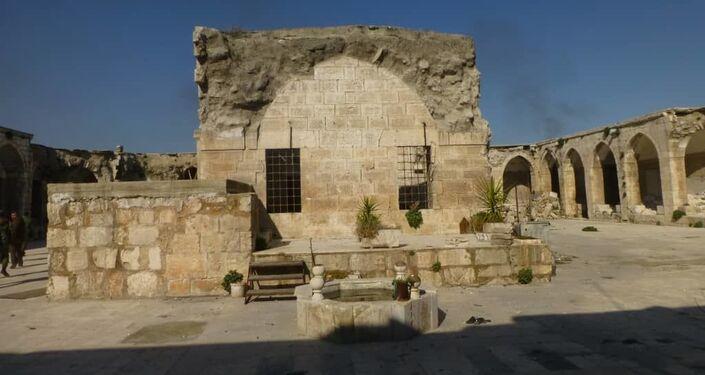 شحن محتويات متحف معرة النعمان إلى حماة