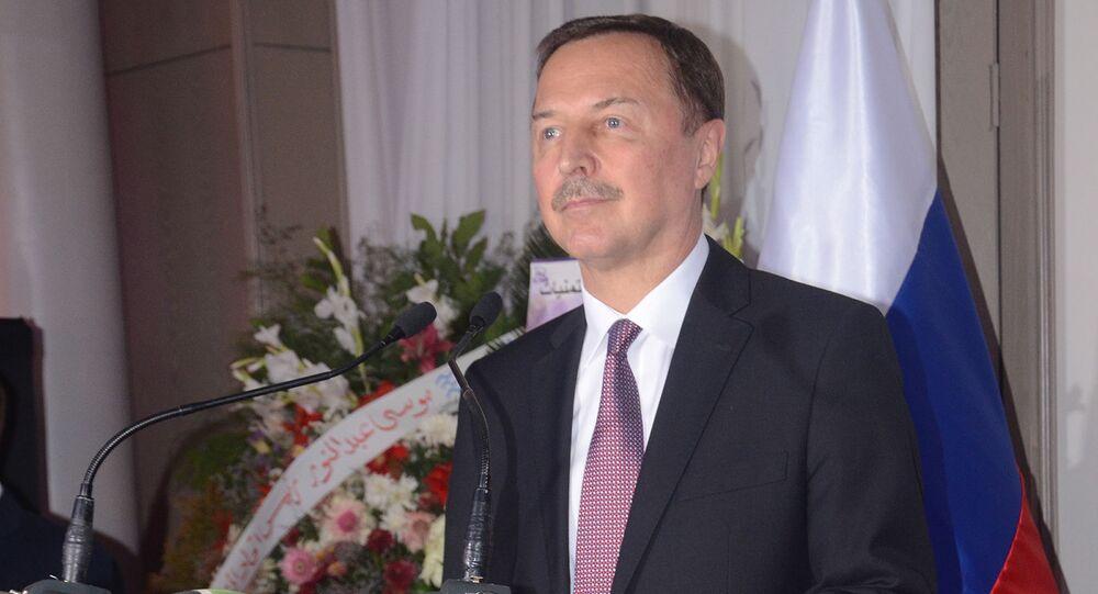 السفير الروسي في سوريا، ألكسندر يفيموف في دمشق