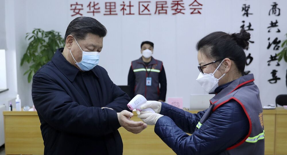 الرئيس الصيني شي جين بينغ، يجري فحوصات في مستشفى في بكين للتأكد من سلامته من فيروس كورونا