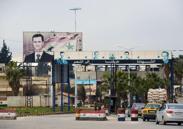 الجيش السوري يحرر معرة النعمان، سوريا 10 فبراير 2020